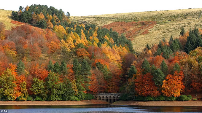 Autumn Break In Derbyshire